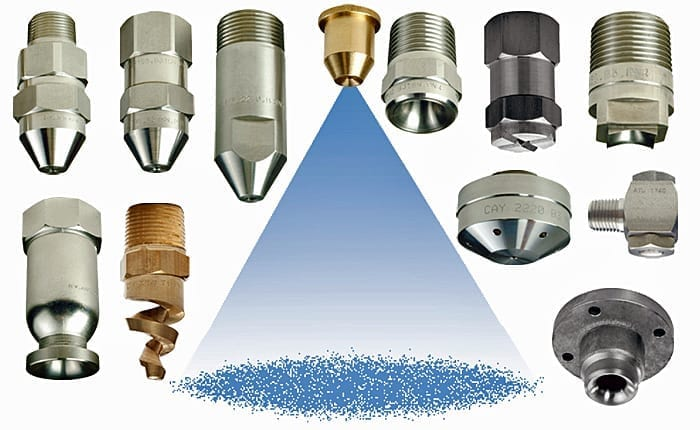 Full Cone Nozzles Standard Spiral And Multiple Full Cone