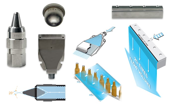 Air Knife Blow Off Systems : Assembly accessories and complementary products